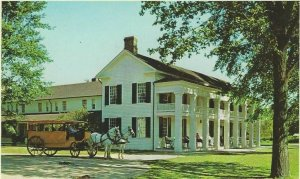 VTG postcard, Clinton Inn Greenfield Village, Dearborn, Michigan