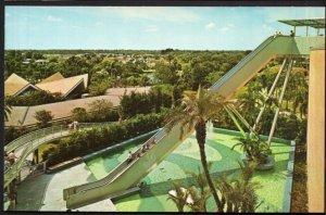 FL TAMPA Busch Gardens Stairway to the Stars longest motor stairway - Chrome