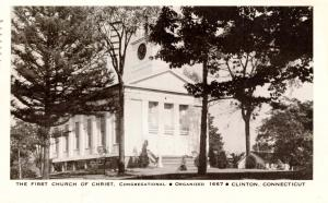 CT - Clinton. First Church of Christ Congregational