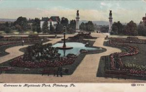 Entrance to Highlands Park, Pittsburg, Pennsylvania, 10-20s