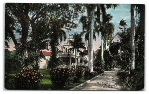 Colonial Hotel and Bungalows, Honolulu Territory of Hawaii Postcard *7A1