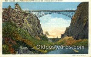 California Highway Bridge Crooked River OR Unused