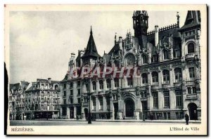 Old Postcard Mezieres L & # 39Hotel Town