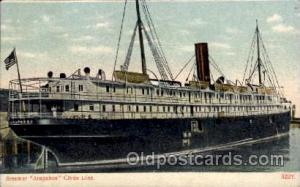 Arapahoe, Clyde Line, Steamer Ship Ships Postcard Postcards  Arapahoe, Clyde ...