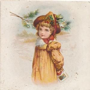 Chandler's Campholine Victorian Trade Card - East Somerville MA, Massachusetts