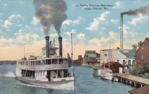 Steamship , OSHKOSH , Wisconsin , 00-10s