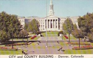 Colorado Denver Civic Center And City And County Building From The Capitol