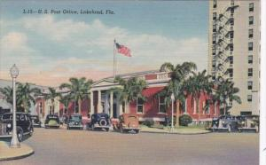 Florida Lakeland Post Office Curteich