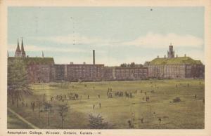 WINDSOR , Ontario , Canada , PU-1950 ;  Assumption College