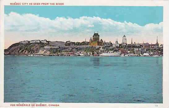 Quebec City, Riverfront view , 1910s Quebec , Canada