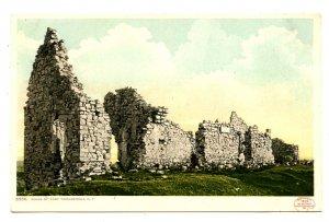 NY -  Ft Ticonderoga. Ruins