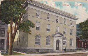 Exterior,  Y.M.C.A.  Building,  Gloversville,   New York,  PU_1915