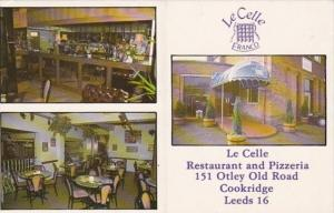 England Leeds Cookridge Le Celle Italian Restaurant & Pizzeria