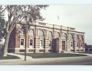 Unused Pre-1980 COURTHOUSE SCENE Medicine Hat Alberta AB d2395