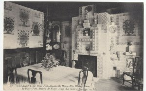 Guernsey; St Peter Port, Hauteville House Dining Room PPC By Levy, LL 91, Unused