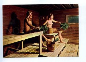 199511 Finland spirit of Finnish Sauna Nude girls