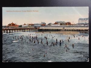 South Africa: Durban BATHING ENCLOSURE OCEAN BEACH Pub by A.R. of Durban