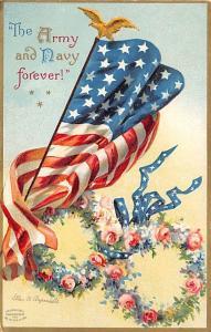 Memorial Day Decoration Day Post Card Old Vintage Antique International Art P...