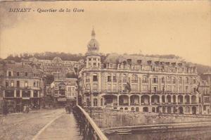 Belgium Dinant Quartiere de la Gare