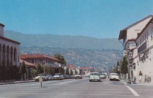 Main Street , SANTA BARBARA , California , 50-60s