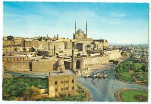 Egypt, Cairo, Citadel and Alabaster Mosque, 1960s unused Postcard