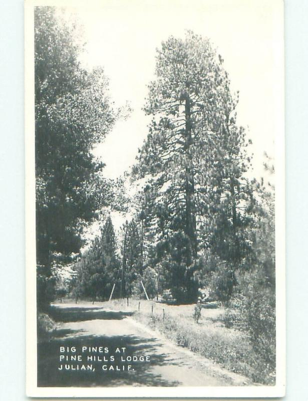 old rppc NICE VIEW Julian - Near Ramona & Escondido California CA i6956