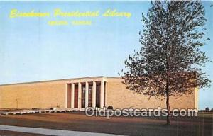 Abilene, KS, USA Postcard Eisenhower Presidential Library