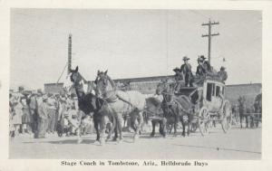 TOMBSTONE , Arizona , 50-60s ; HELLDORADO DAYS , Stage Coach