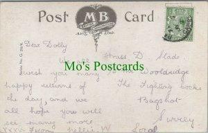 Genealogy Postcard - Slade / Wooldridge - The Fighting Cocks, Bagshot RF7541