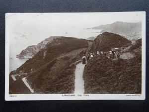 Devon ILFRACOMBE The Tors c1910 RP Postcard by Rapid V405-2