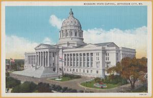 Jefferson City, MO., Missouri State Capitol -