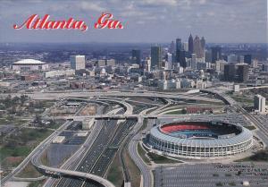 Football Stadium ,  Atlanta , Georgia , 60-80s