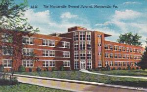 The Martinsville General Hospital Martinsville Virginia