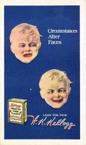Kellogg's Toasted Corn Flakes  Advertising Postcard