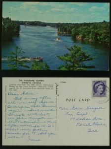 Lost Channel Thousand Islands, Port Franks Ontario 1963