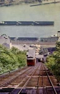 Duquesne Heights Inclined Plain Pittsburgh PA Unused