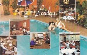 Swimming Pool, Conference Room, Dining Room, Hotel Le President, Sherbrooke, ...