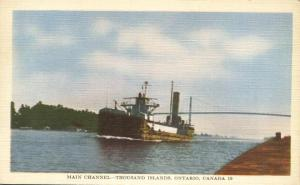Main Channel - Thousand Islands - Ontario, Canada - Linen