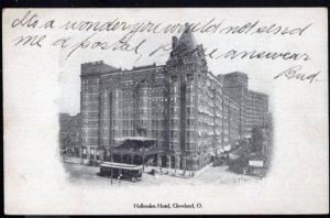 Ohio Hollenden Hotel CLEVELAND (Cleveland Plain Dealer Post Cards) - Und/B