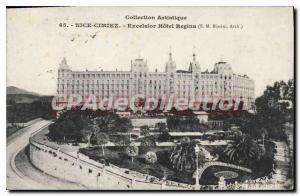 Postcard Old Nice Cimiez Excelsior Hotel Regina