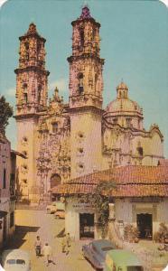 Mexico Iglesia de Santa Prisca Taxco 1963