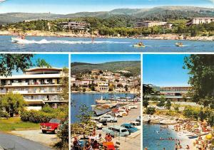 Croatia Raba Jugoslavija Beach General view Auto Cars