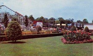OH - Cincinnati. Coney Island, Roller Coaster, Mall