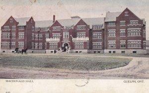 GUELPH , Ontario , Canada , 00-10s ; MacDonald Hall