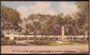 FL Silver Springs Sun Plaza Motor Manor