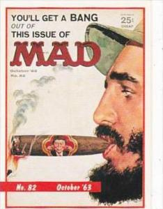 Lime Rock Trade Card Mad Magazine Cover Issue No 82 October 1963