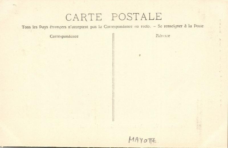 Mayotte, DZAOUDZI, La Grande Jetée Sud (1910s)