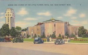 Michigan Detroit Shrine and Church Of The Little Flower