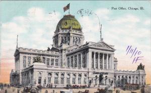 CHICAGO, Illinois, PU-1910; Post Office