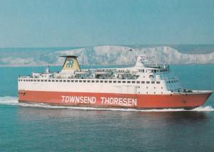 Oostende to Dover Ferry Reine Astrid , 60-90s Version-2